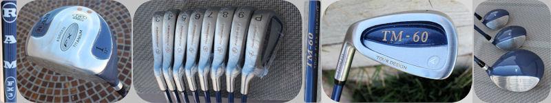 Pro Kennex Tour Design Golf Clubs